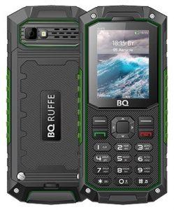 Телефон BQ 2205 Ruffe Black Green