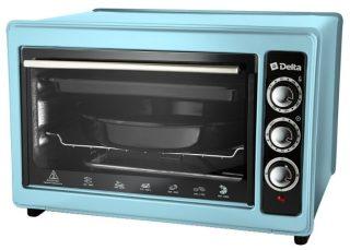 Мини-печь DELTA D-023 голубой