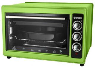 Мини-печь DELTA D-0123 зеленая