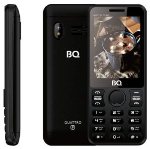 Телефон BQ 2812 Quattro Power Black