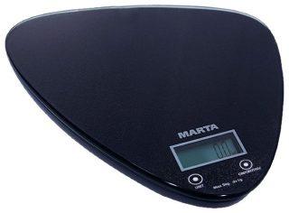 Кухонные весы Marta MT-1632 черный