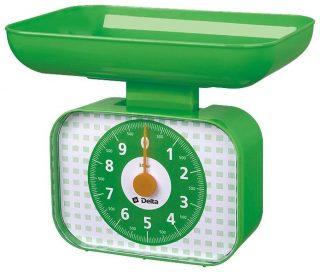 Кухонные весы DELTA КСА-105 зеленый