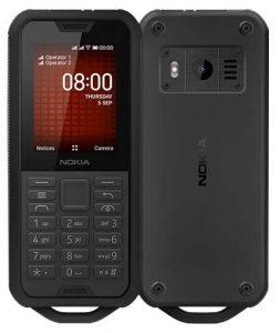 Мобильный телефон Nokia 800 DS TA-1186 Black