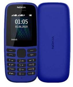Мобильный телефон Nokia 105 SS TA-1203 Blue