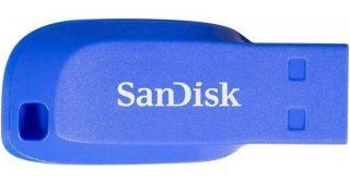 Флеш-накопитель SanDisk Cruzer Blade 32GB Electric Blue
