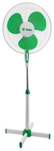 Напольный вентилятор DELTA DL-001N белый/ зеленый