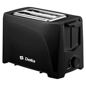 Тостер Delta DL-6900 чёрный